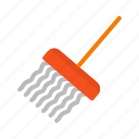 cleaning, equipment, floor, hotel, mop, mopping, tool icon
