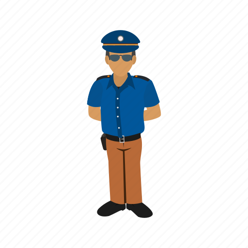 guard, hotel, people, police, protect, security, uniform icon