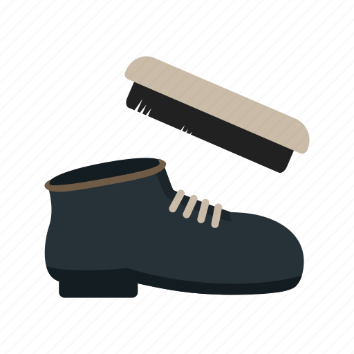 brush, clean, leather, polish, shoe, shoemaker, shoes icon