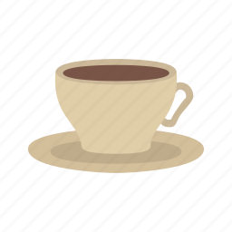 coffee, drink, kitchen, mug, saucer, tea cup, utensil icon