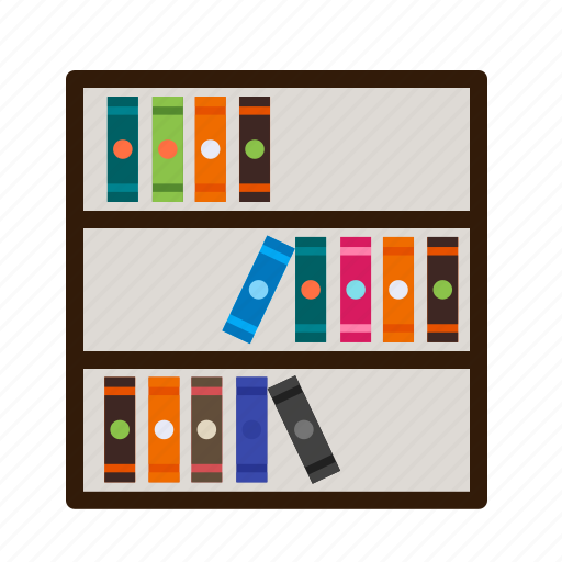 book, books, bookshelf, knowledge, shelf, study, wood icon