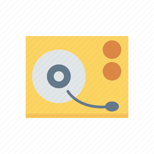 audio, disk, music, song icon