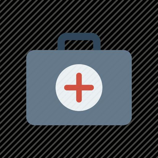 bag, healthcare, kit, medical icon