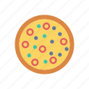 eat, fastfood, meat, pizza icon