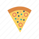 eat, fastfood, pizza, slice icon