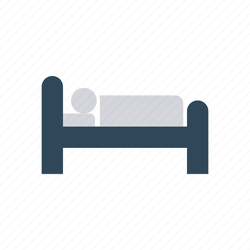 bed, furniture, interior, sleep icon
