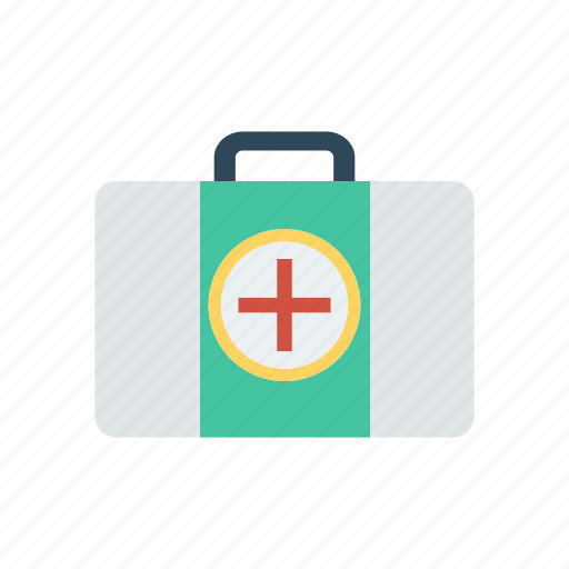 bag, healthcare, kit, medical icon