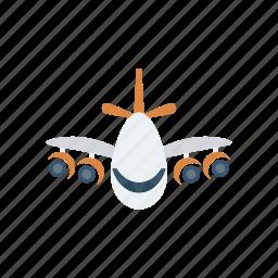 aeroplane, flight, transport, vehicle icon
