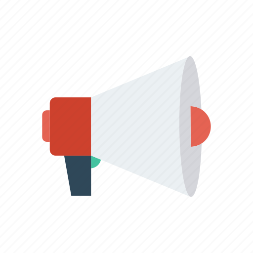 Announcement, loud, megaphone, speaker icon - Download on Iconfinder