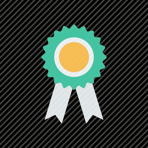 award, badge, prize, quality icon