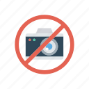ban, block, camera, notallowed icon