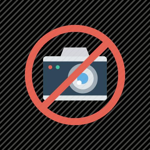 ban, block, camera, notallowed icon