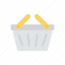 basket, food, picnic, trolley icon