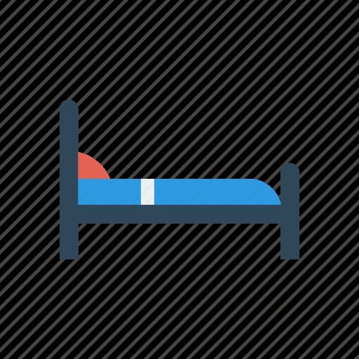 bed, furniture, interior, sleep icon