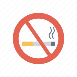 ban, block, notallowed, smoking icon