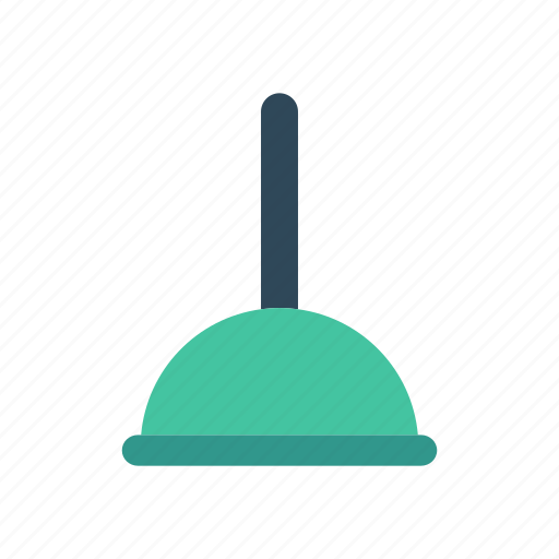 broom, brush, cleaning, mop icon