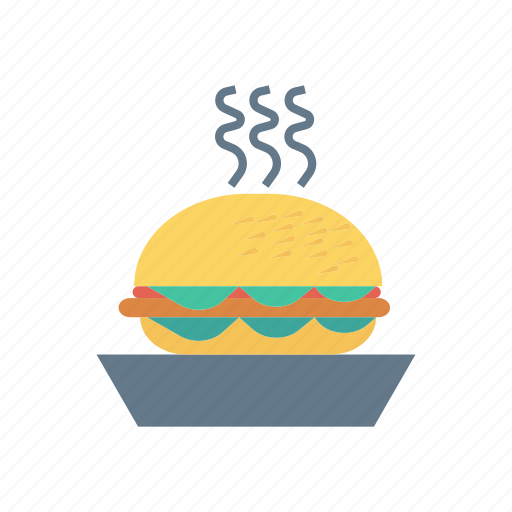 burger, eat, fastfood, meal icon