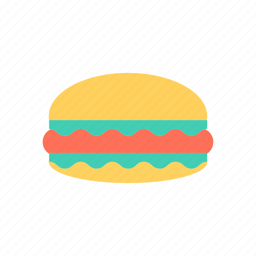 burger, eat, fastfood, meat icon