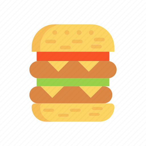 burger, eat, fasffood, meal icon