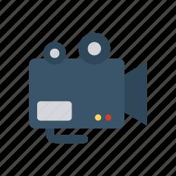 camera, dslr, recording, video icon