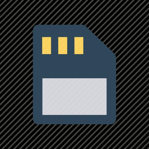 card, chip, sd, sim icon