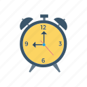 alarm, alert, clock, time icon