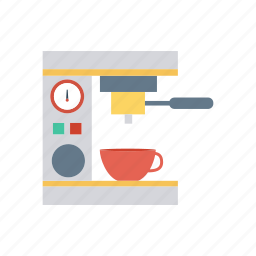 appliance, coffee, cup, machine icon