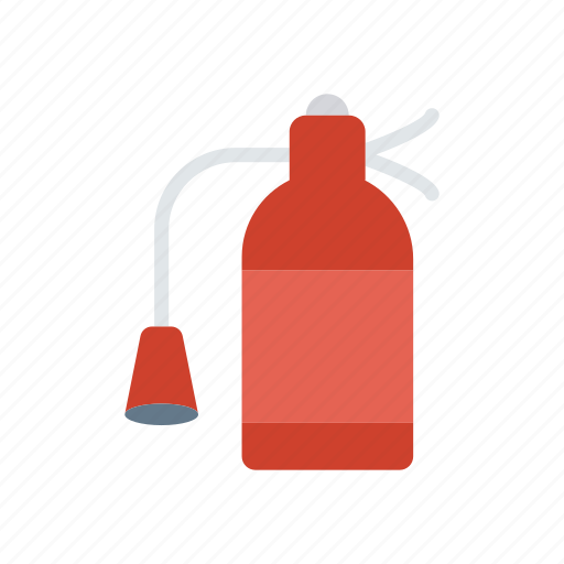 cylinder, extinguisher, fire, security icon