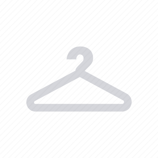cloth, dress, hang, hanger icon