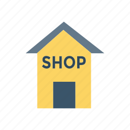 estate, real, shop, store icon