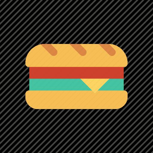 burger, eat, fastfood, meal icon