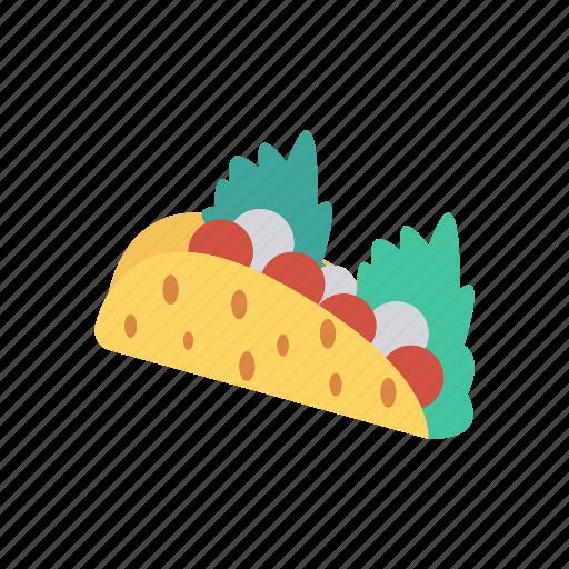 eating, fastfood, roll, shawarma icon