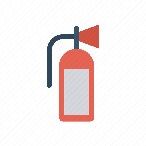 cylinder, extinguisher, fire, protection icon