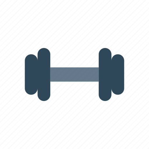 dumbbell, exercise, fitness, gym icon