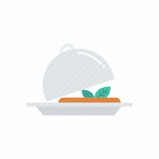 cover, dish, food, meal icon