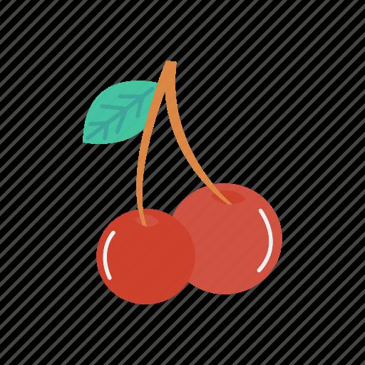 berry, cherry, fruit, healthy icon