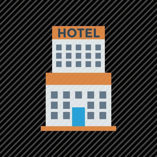 building, estate, hotel, resturant icon