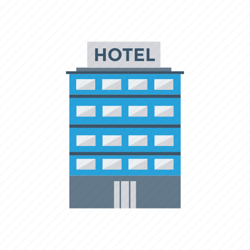 building, hotel, real, resturant icon