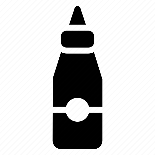 bottle, food, fruit, ketchup, red, sauce, tomato icon