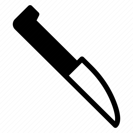 Blade, carving, kitchen, knife, tool, utensils, weapon icon - Download on Iconfinder