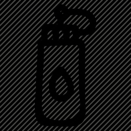 aqua, bottle, drink, fitness, food, plastic, water icon