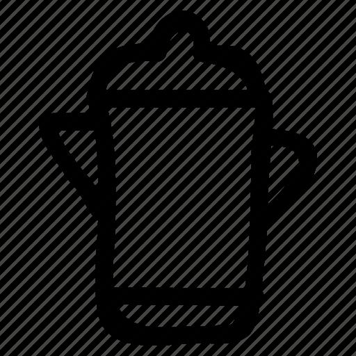 jug, kettle, milk, pot, tea, utensil, water icon