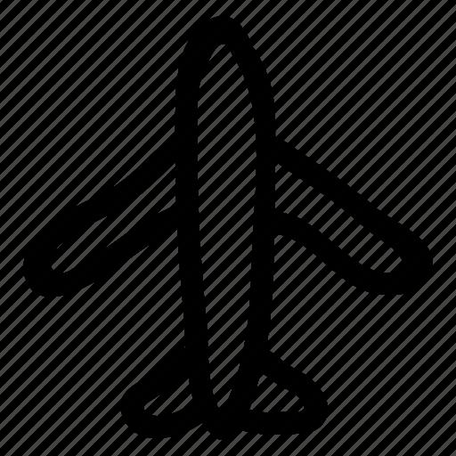 aeroplane, air, aircraft, flight, fly, plane, travel icon