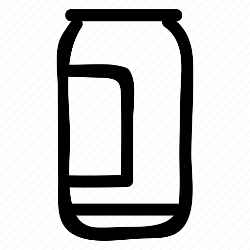 can, cola, drink, energy, soda, water, wine icon