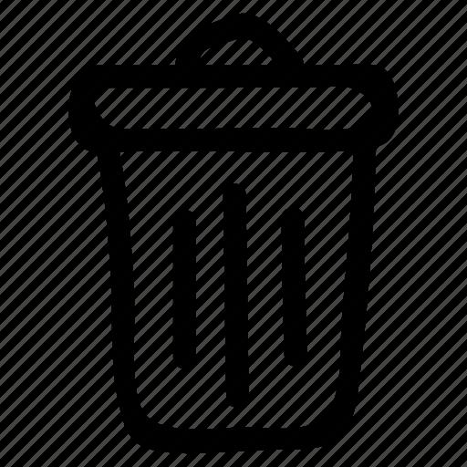 bin, business, delete, garbage, office, remove, trash icon