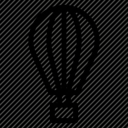 air, balloon, flight, fly, holiday, hot, transport icon
