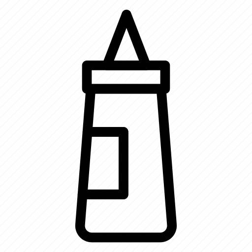 bottle, cooking, food, ketchup, red, sauce, tomato icon