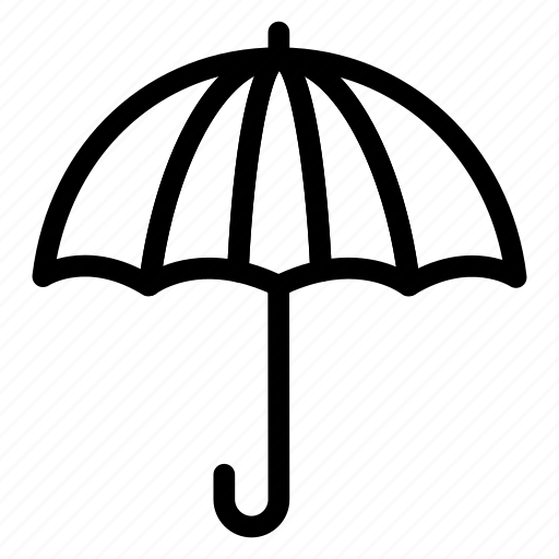 Beach, holding, protection, rain, summer, umbrella, vacation icon - Download on Iconfinder