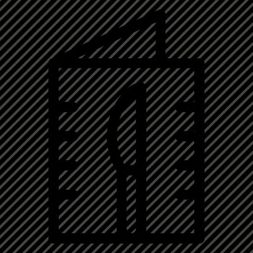Booking, breakfast, food, hotel, menu, restaurant, service icon - Download on Iconfinder