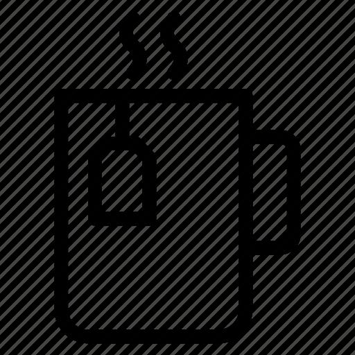 coffee, cup, drink, food, pot, tea, teacup icon